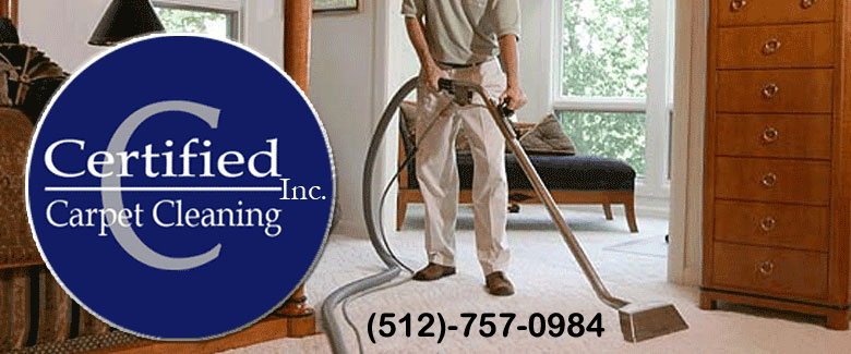 Certified Carpet Cleaning offers commercial and residential carpet cleaning, repair, steam cleaning and flood damage cleanup and tile cleaning in San Marcos, New Braunfels, Kyle and Buda Texas and throughout Hays County Texas.